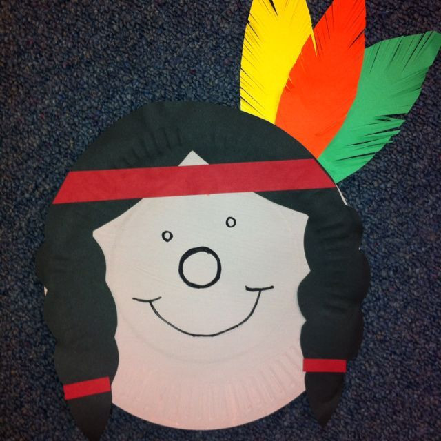 Thanksgiving Art Projects For Preschoolers  35 best Pilgrim turkey and Indian Crafts for kids