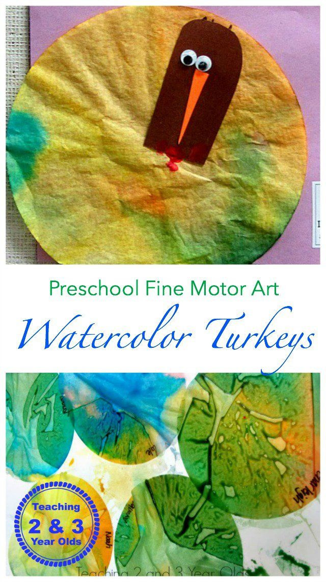 Thanksgiving Art Projects For Preschoolers  Colorful Turkey Craft for Kids