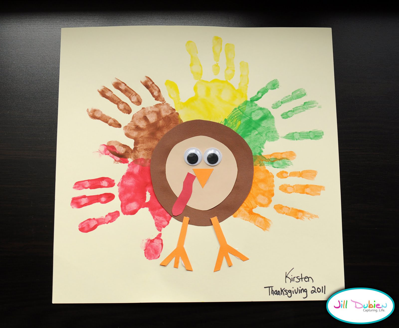 Thanksgiving Art Projects For Preschoolers  Preschool Crafts for Kids Thanksgiving Rainbow Handprint