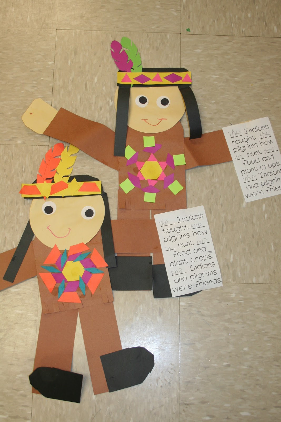 Thanksgiving Art Projects For Preschoolers  Mrs Lee s Kindergarten Thanksgiving Fun and a FREEBIES