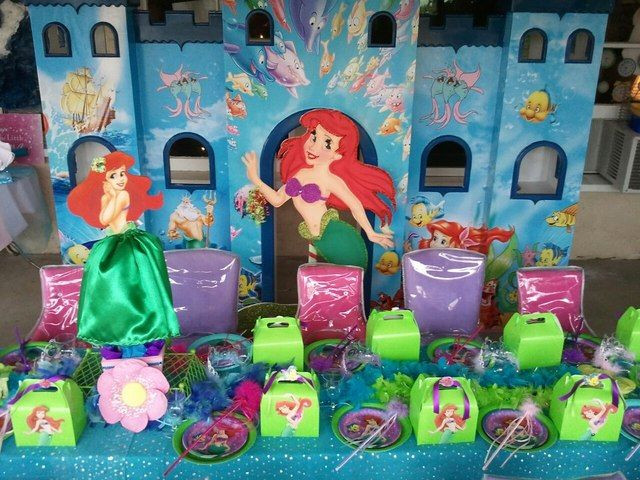 The Little Mermaid Party Ideas Pinterest  Little Mermaid Party littlemermaid party