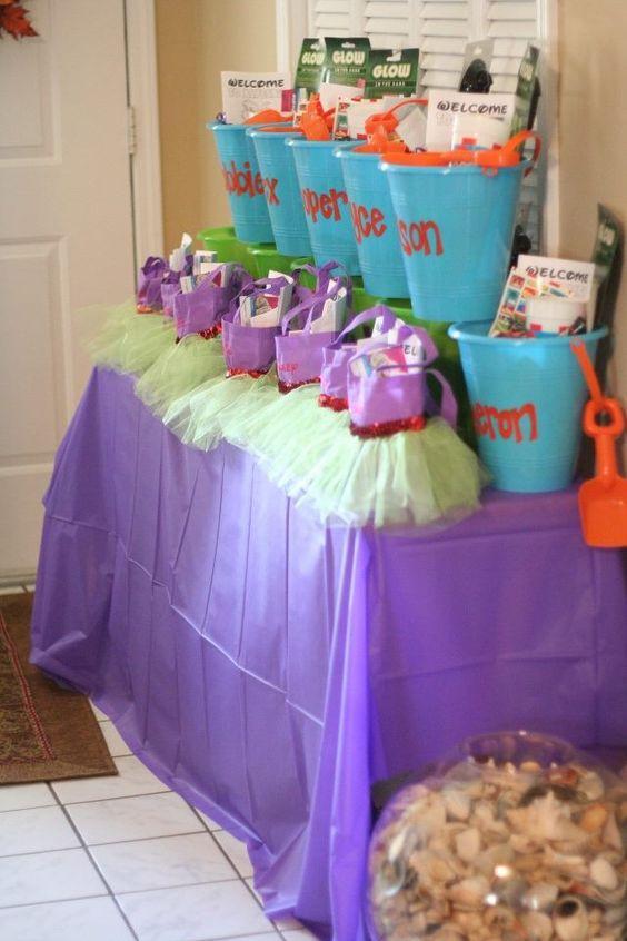 The Little Mermaid Party Ideas Pinterest  Under the sea little mermaid birthday party ideas