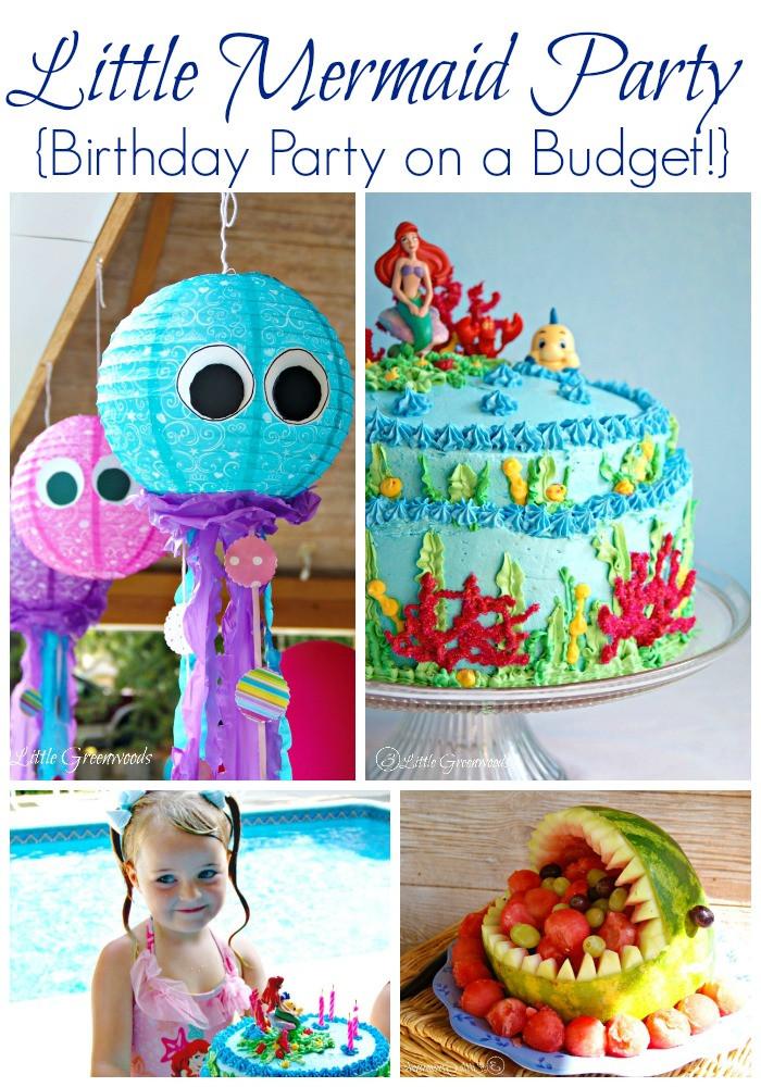 The Little Mermaid Party Ideas Pinterest  Mermaid Birthday Party