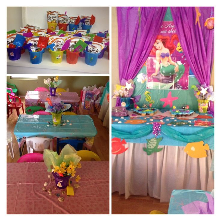 The Little Mermaid Party Ideas Pinterest  Pin by Anita Stang on little mermaid birthdAY ideas