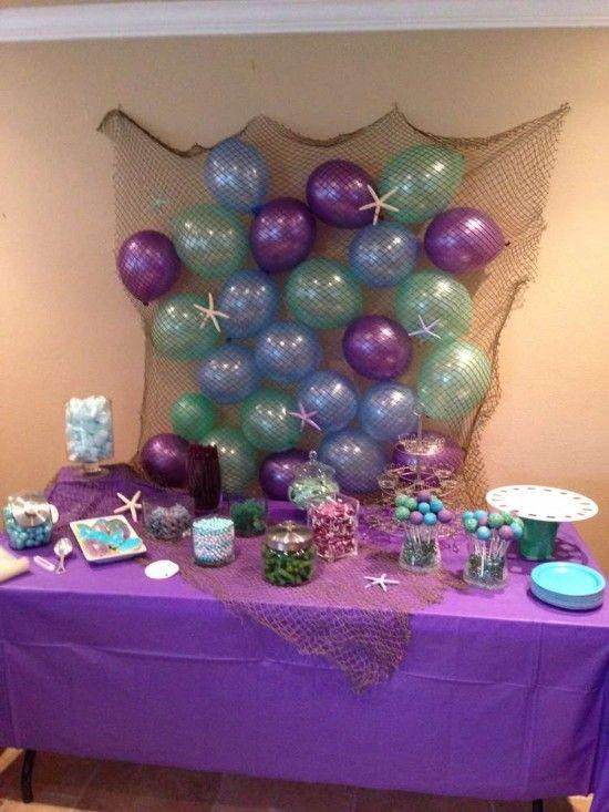 The Little Mermaid Party Ideas Pinterest  Best 25 Little mermaid birthday ideas on Pinterest
