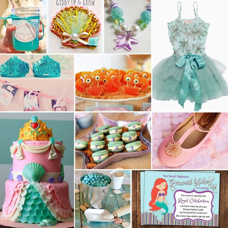 The Little Mermaid Party Ideas Pinterest  Jules Got Style Ariel The Little Mermaid Birthday Party
