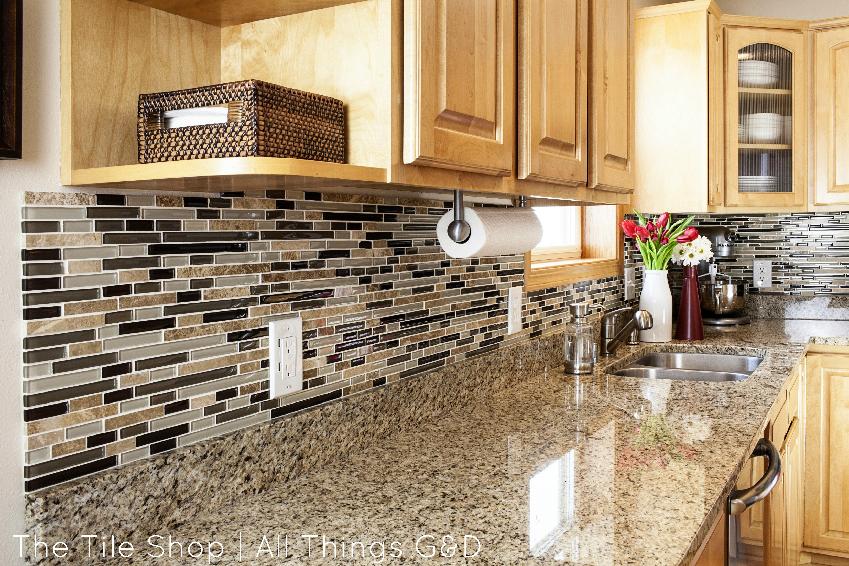 "Tile Kitchen Backsplash  My Tile Shop Shoot The ""After"" Pics All Things G&D"