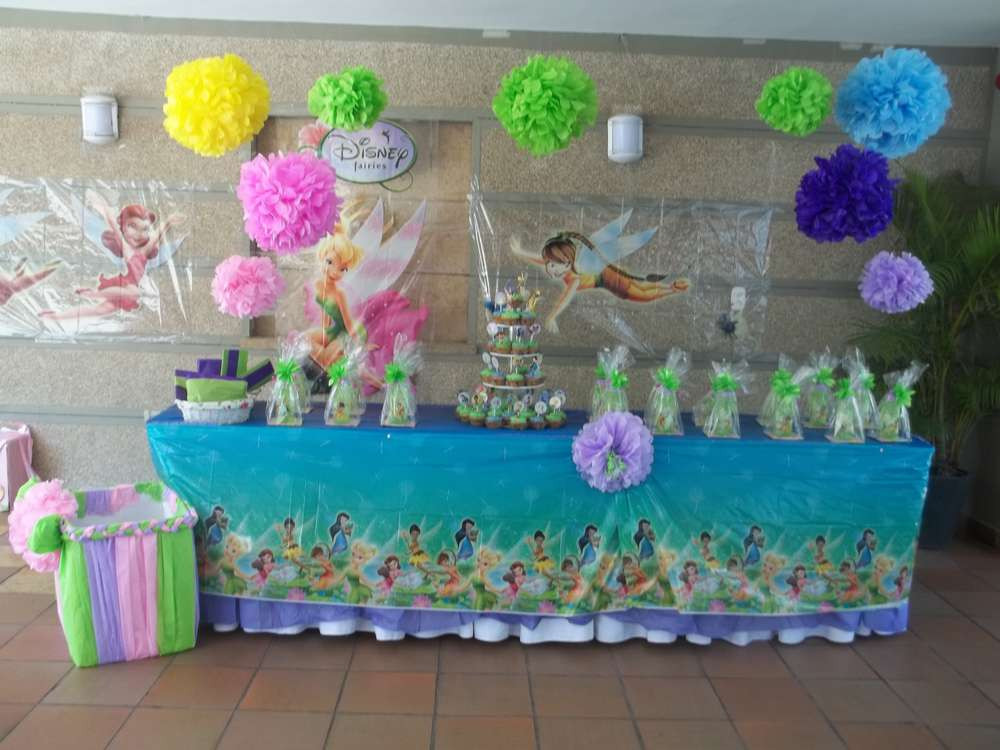 Tinkerbell Birthday Party Decorations  Tinker Bell Birthday Party Ideas 1 of 12