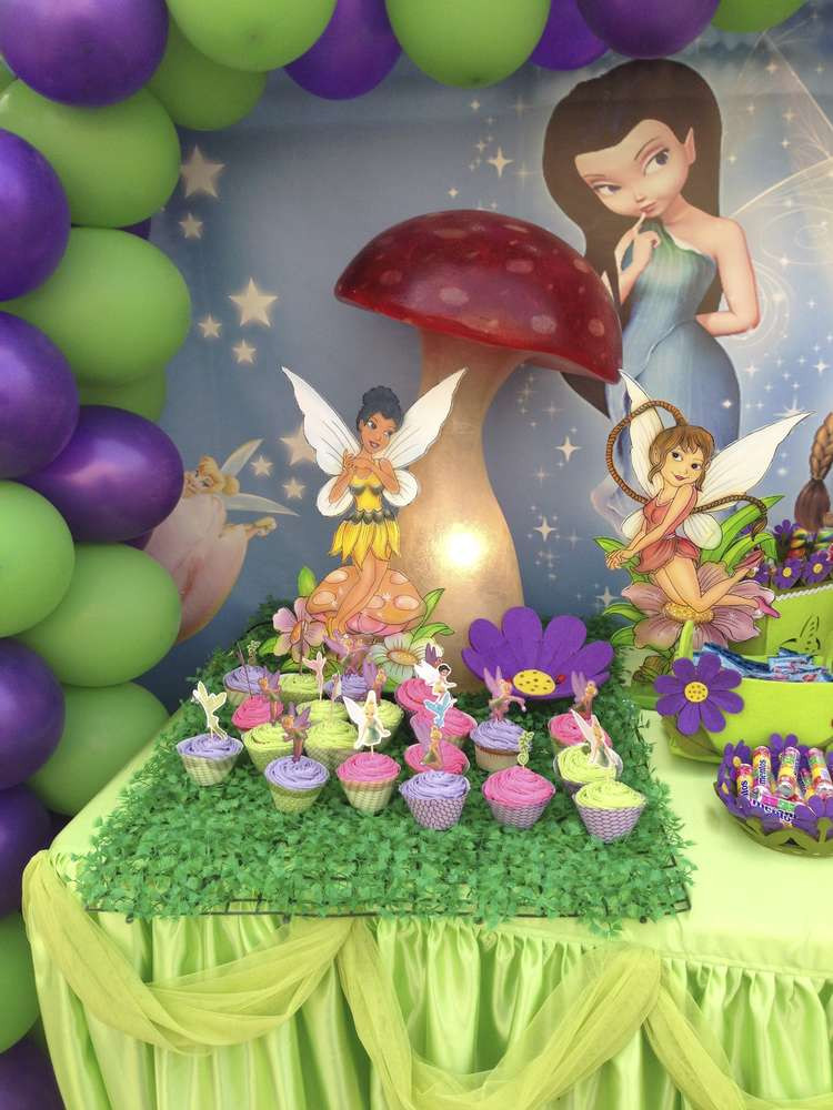 Tinkerbell Birthday Party Decorations  Tinkerbell & Fairies Birthday Party Ideas