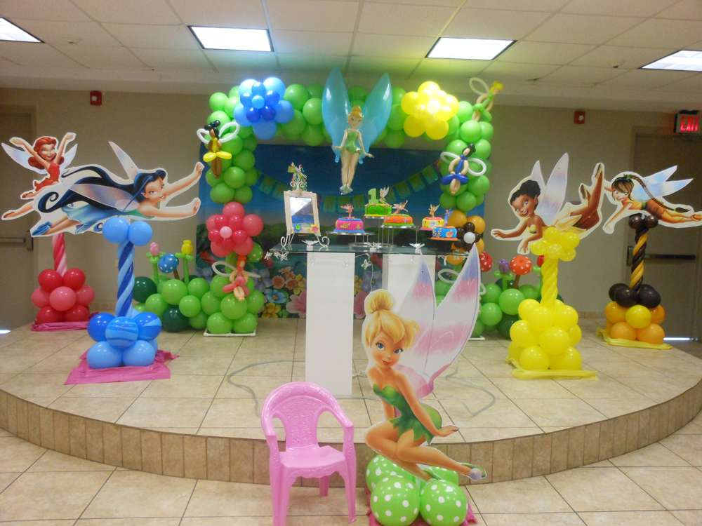 Tinkerbell Birthday Party Decorations  Tinkerbell Birthday Party Ideas 1 of 14