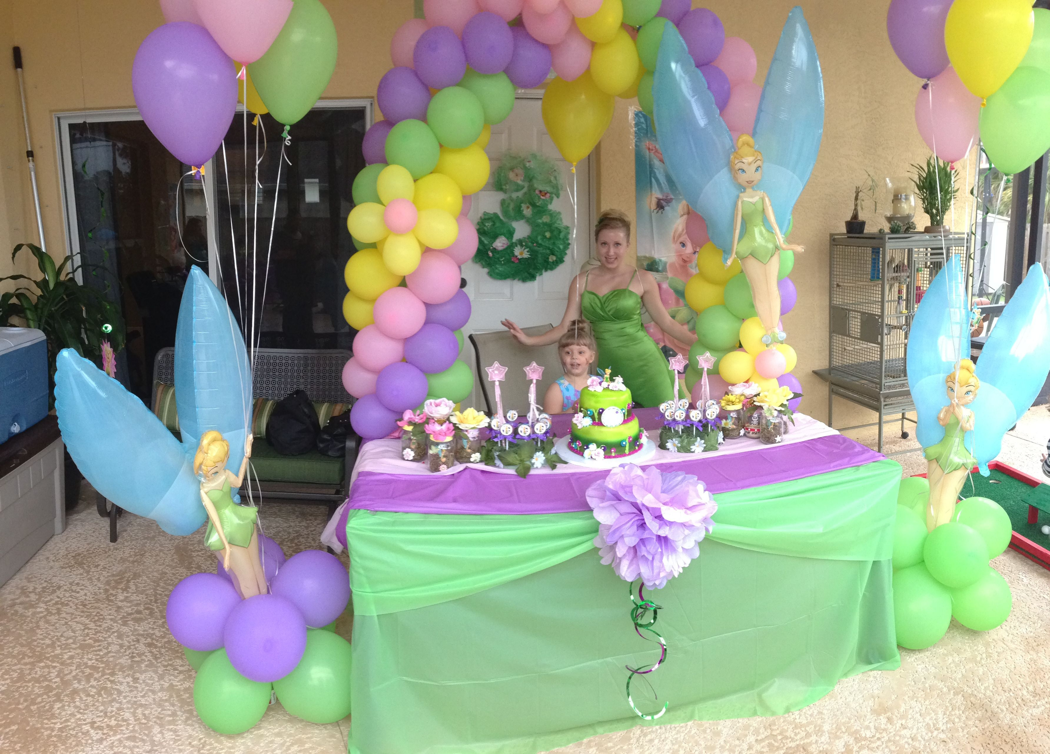 Tinkerbell Birthday Party Decorations  Tinkerbell party Kaylee s parties