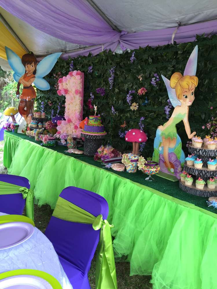 Tinkerbell Birthday Party Decorations  Tinkerbell and Friends Birthday Party Ideas