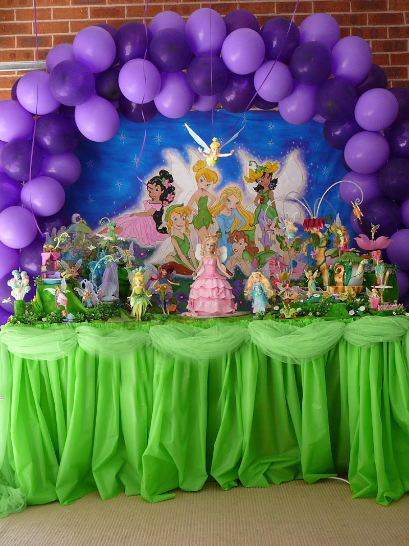 Tinkerbell Birthday Party Decorations  Tinkerbell Party Decoration by Verusca on DeviantArt