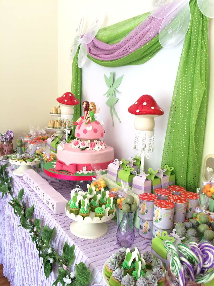 Tinkerbell Birthday Party Decorations  Tinkerbell Birthday Party Ideas 1 of 10