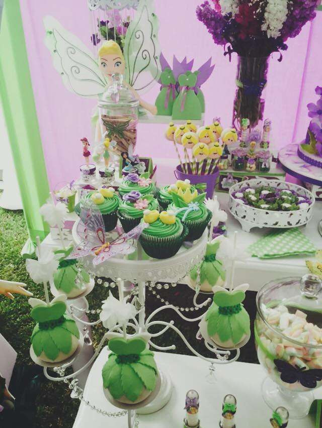 Tinkerbell Birthday Party Decorations  Tinkerbell Birthday Party Ideas in 2019