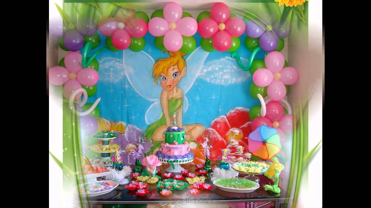 Tinkerbell Birthday Party Decorations  Beautiful Tinkerbell party decorations ideas