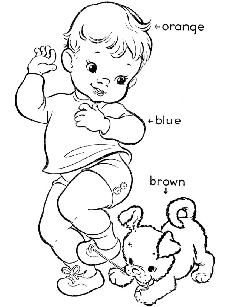 Toddler Learning Coloring Sheets Free  Learning Colors coloring pages Download and print