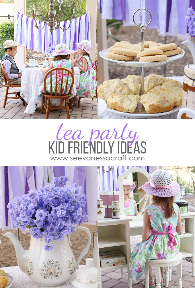 Toddler Tea Party Ideas  Party Downton Abbey Tea Party for Kids See Vanessa Craft