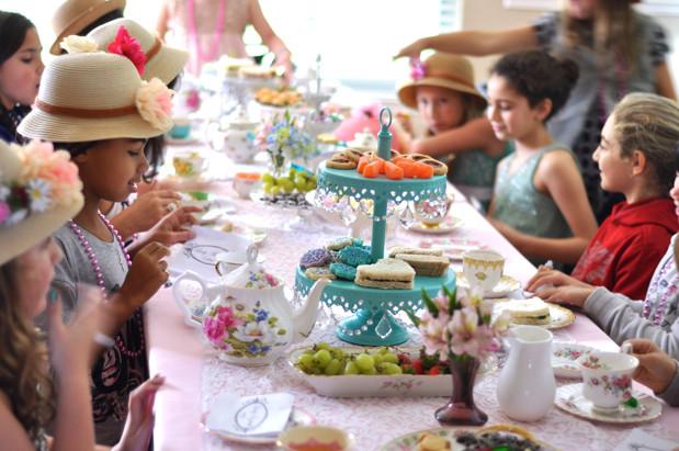 Toddler Tea Party Ideas  You Can Make Money Hosting Children s Tea Parties Tea