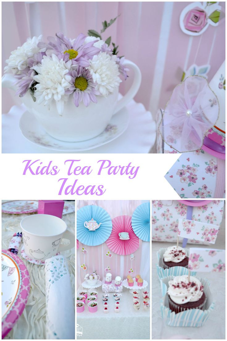Toddler Tea Party Ideas  Kids Tea Party Creativities Galore