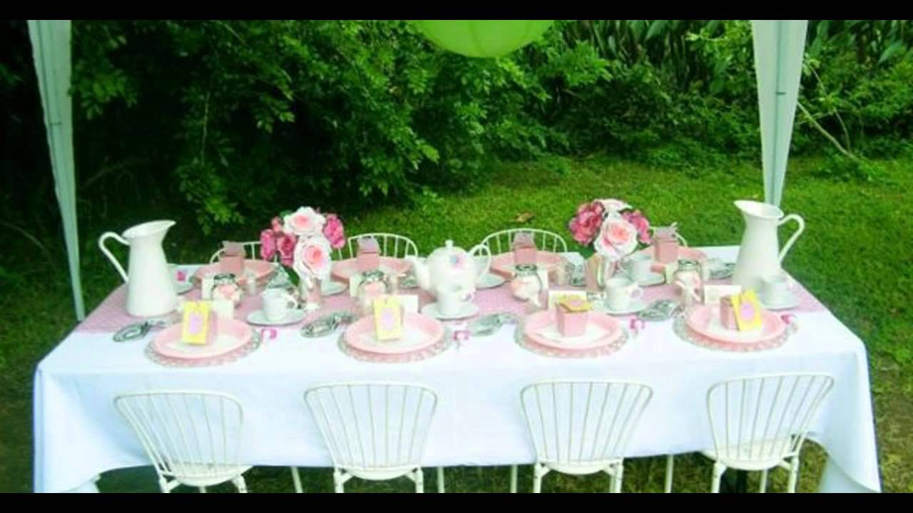 Toddler Tea Party Ideas  Kids tea party decorations at home ideas