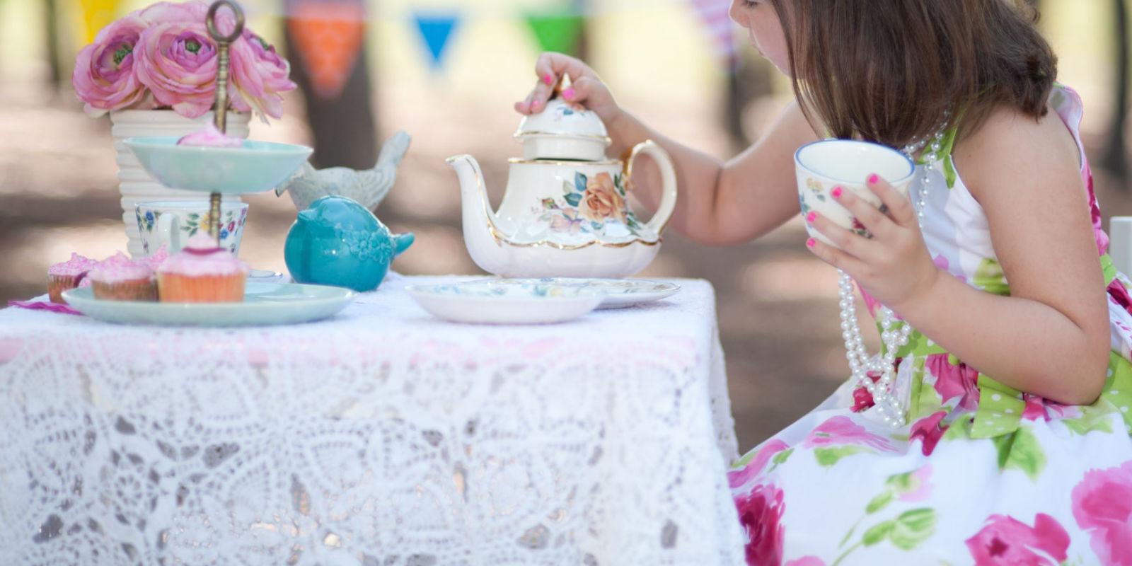 Toddler Tea Party Ideas  How to Throw a Princess Tea Party Themed Kids Birthday