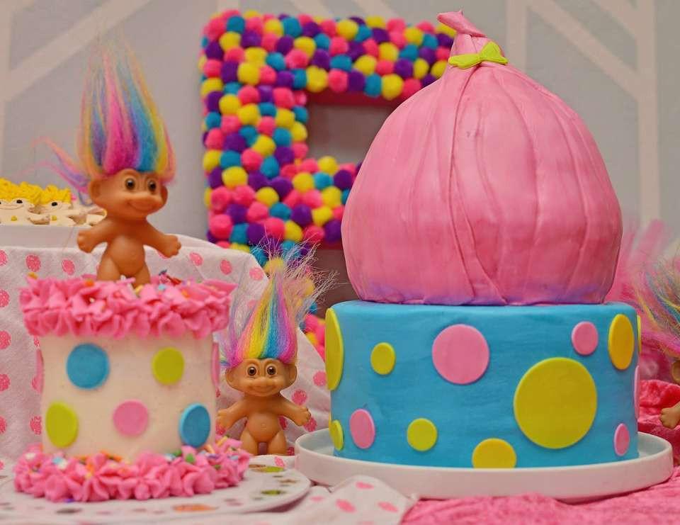 """Troll Party Ideas  Trolls Birthday """"Ellie s Troll Party """""""