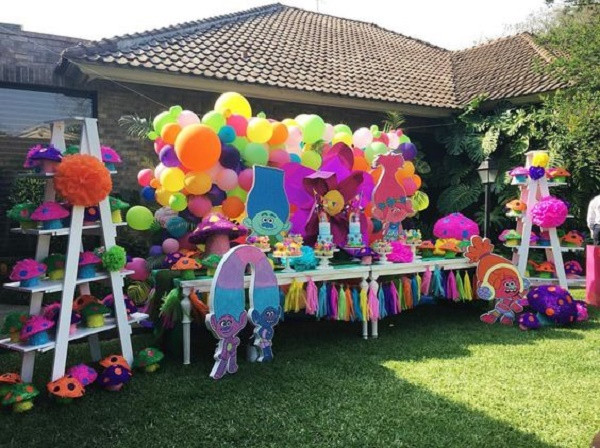 Troll Party Ideas  Trolls Birthday Party Ideas for your Kid s Birthday party