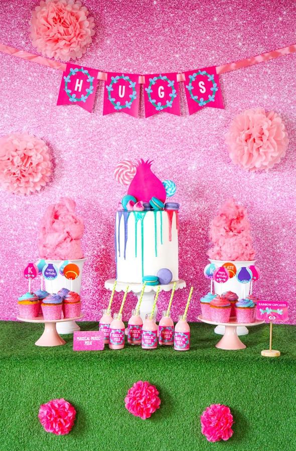 Troll Party Ideas  Trolls Birthday Party Inspiration