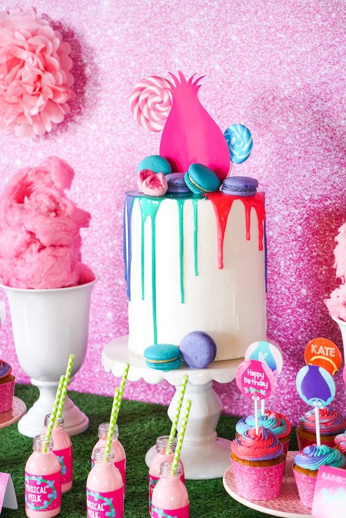 Troll Party Ideas  Kara s Party Ideas Trolls Birthday Party with FREE