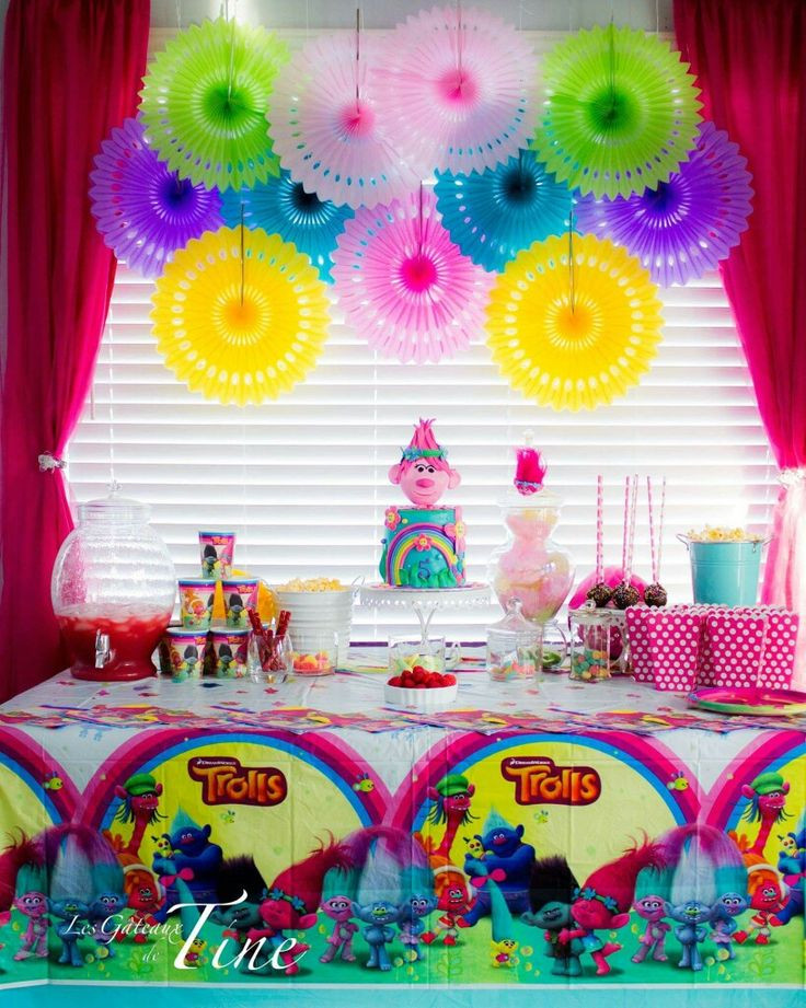 Troll Party Ideas  1000 images about trolls birthday on Pinterest