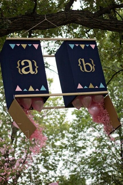 Twins Gender Reveal Party Ideas  8 best images about baby shower on Pinterest