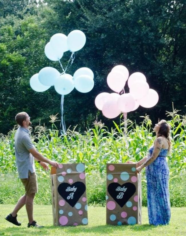 Twins Gender Reveal Party Ideas  24 Gender Reveal Ideas for Pregnancy Announcements – Tip