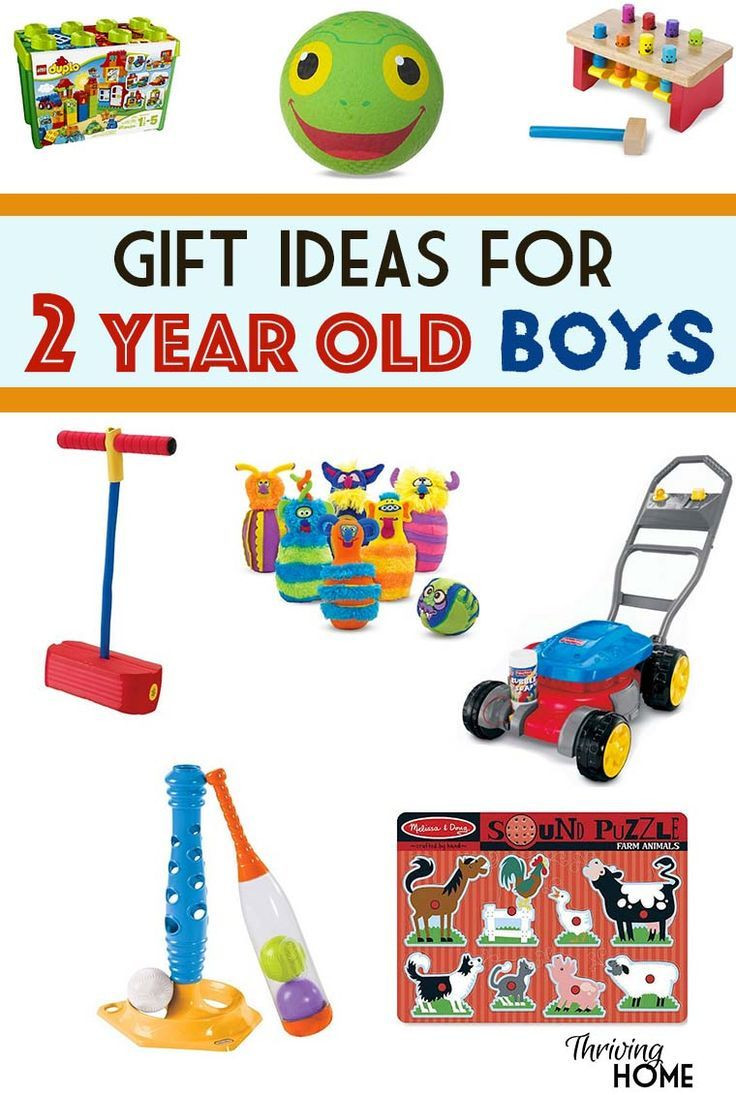 Two Year Old Birthday Gift Ideas  A great collection of t ideas for two year old boys