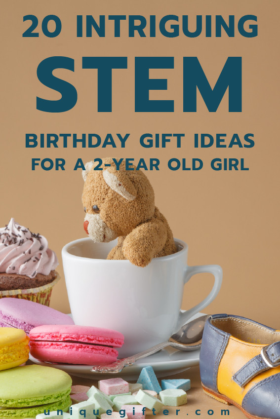 Two Year Old Birthday Gift Ideas  20 STEM Birthday Gift Ideas for a 2 Year Old Girl Unique