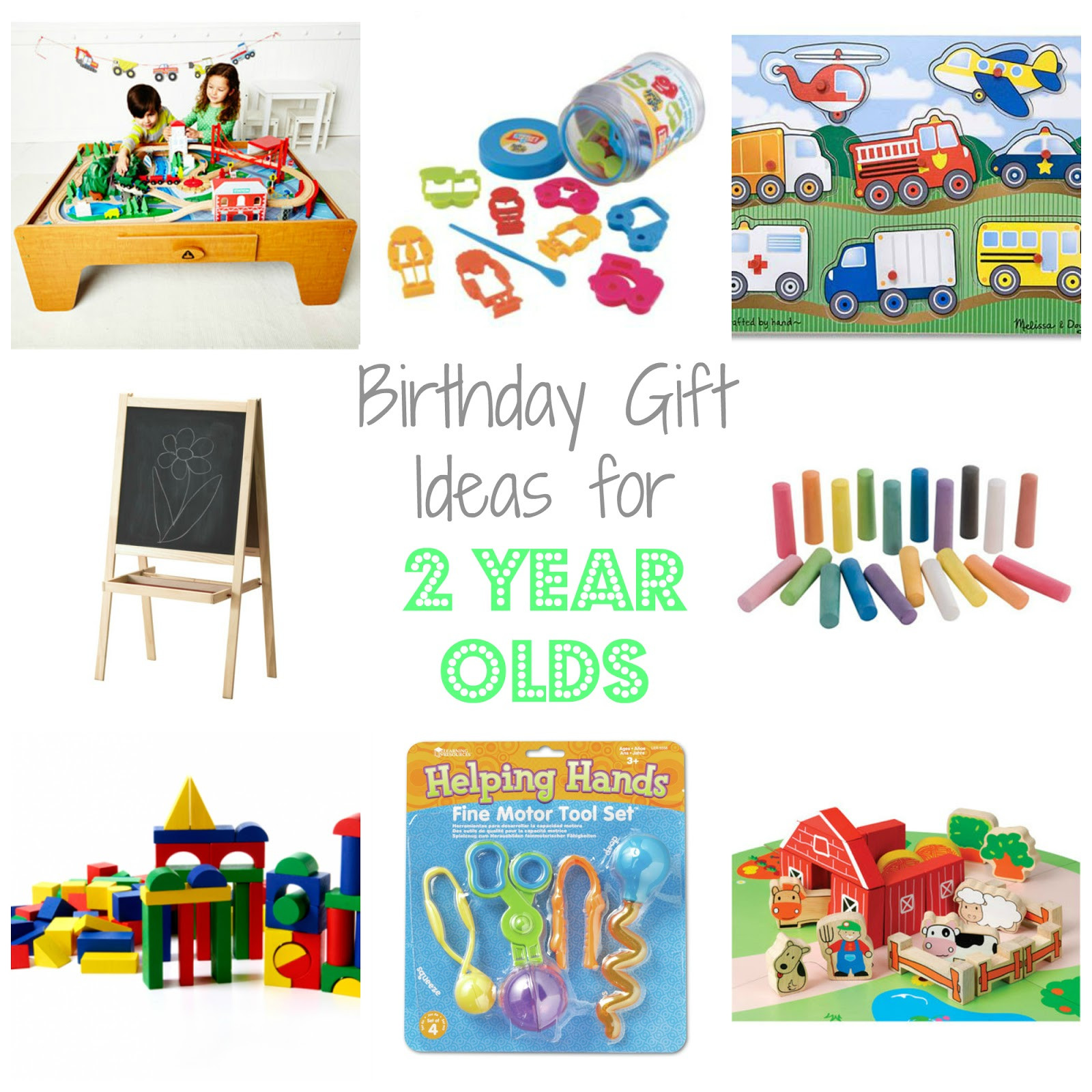 Two Year Old Birthday Gift Ideas  Birthday Gift Ideas for Two Year Olds