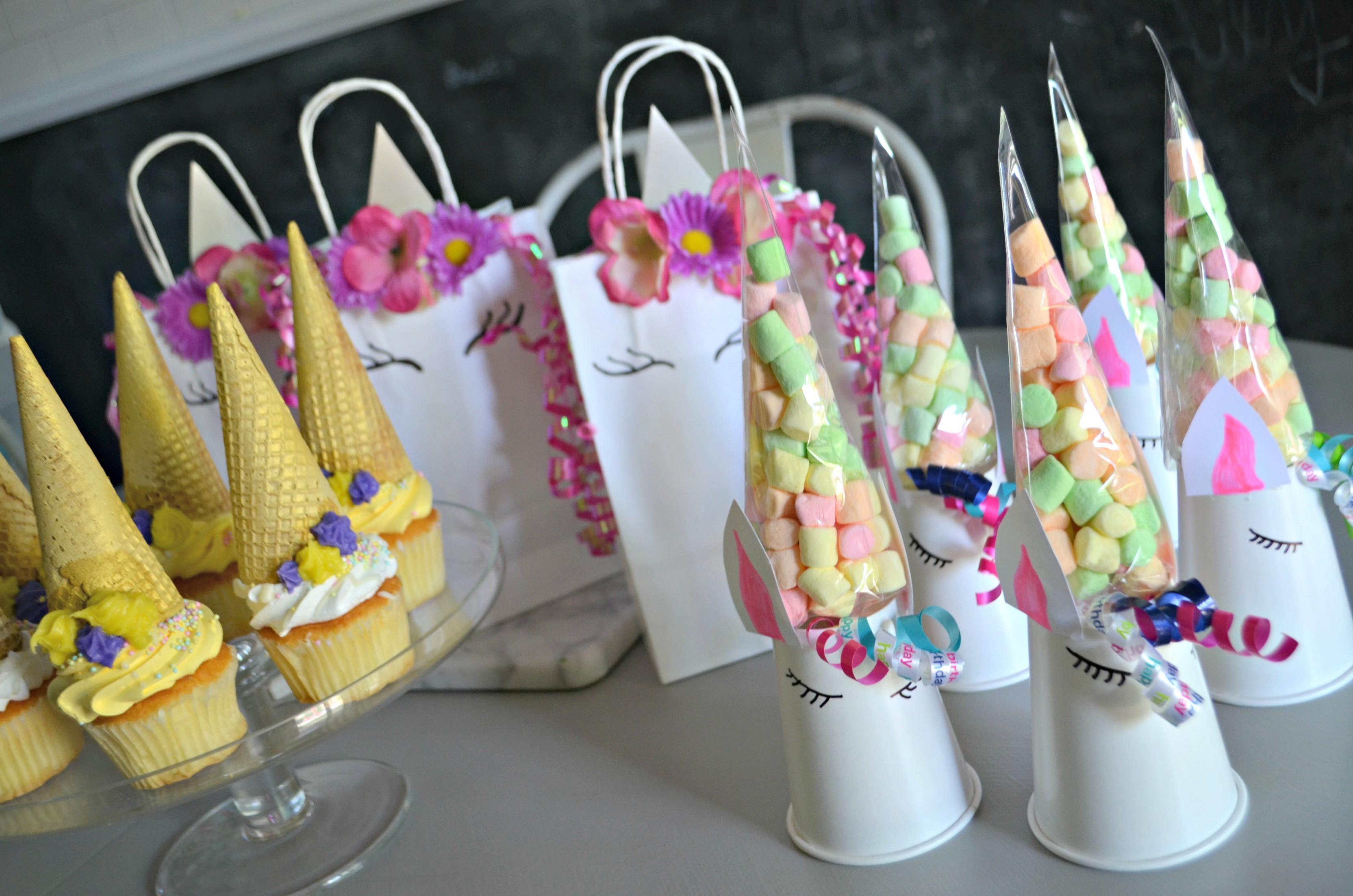 Unicorn Birthday Party Decorations Ideas  Make These 3 Frugal Cute and Easy DIY Unicorn Birthday
