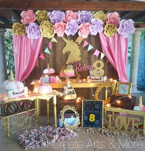 Unicorn Birthday Party Decorations Ideas  Unicorn Birthday Party Ideas Every Girl Would Love you Have