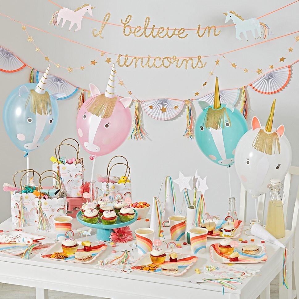 Unicorn Birthday Party Decorations Ideas  Magical Unicorn Birthday Party Ideas for Kids EatingWell