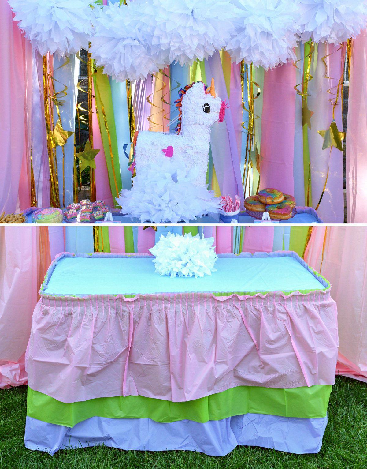 Unicorn Birthday Party Decorations Ideas  Unicorn Party Ideas