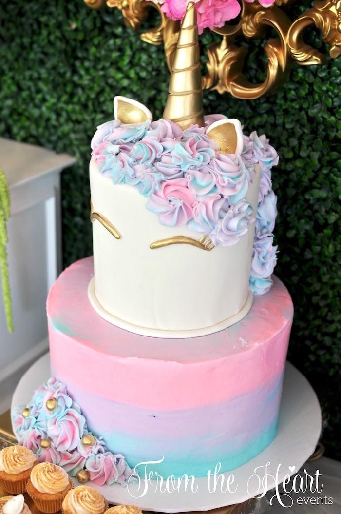 Unicorn Birthday Party Decorations Ideas  Kara s Party Ideas Vibrant Unicorn Birthday Party