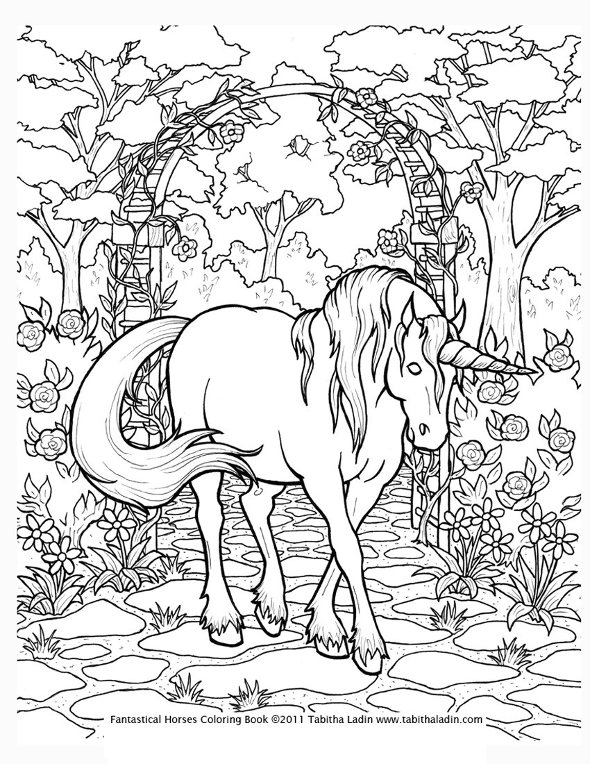 Unicorn Coloring Pages For Kids  unicorn rainbow coloring pages
