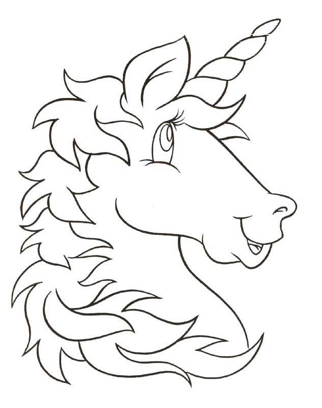 Unicorn Coloring Pages For Kids  Unicorn Coloring Pages For Kids AZ Coloring Pages
