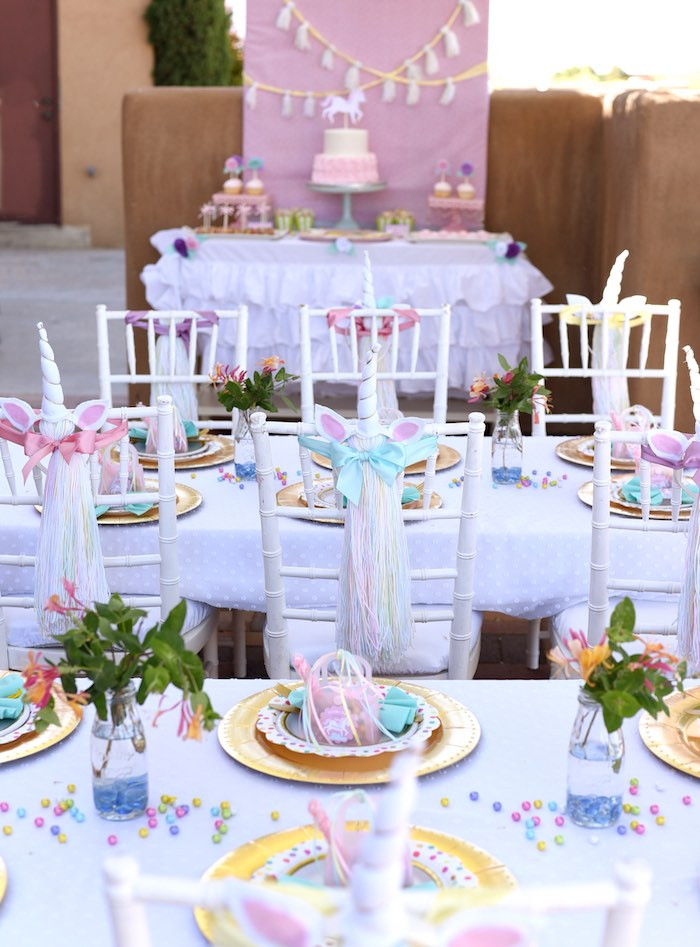 Unicorn Party Ideas  Kara s Party Ideas Pastel Unicorn Themed Birthday Party