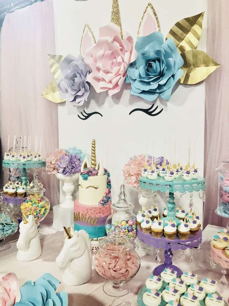 Unicorn Party Ideas  Best 25 Unicorn birthday parties ideas on Pinterest