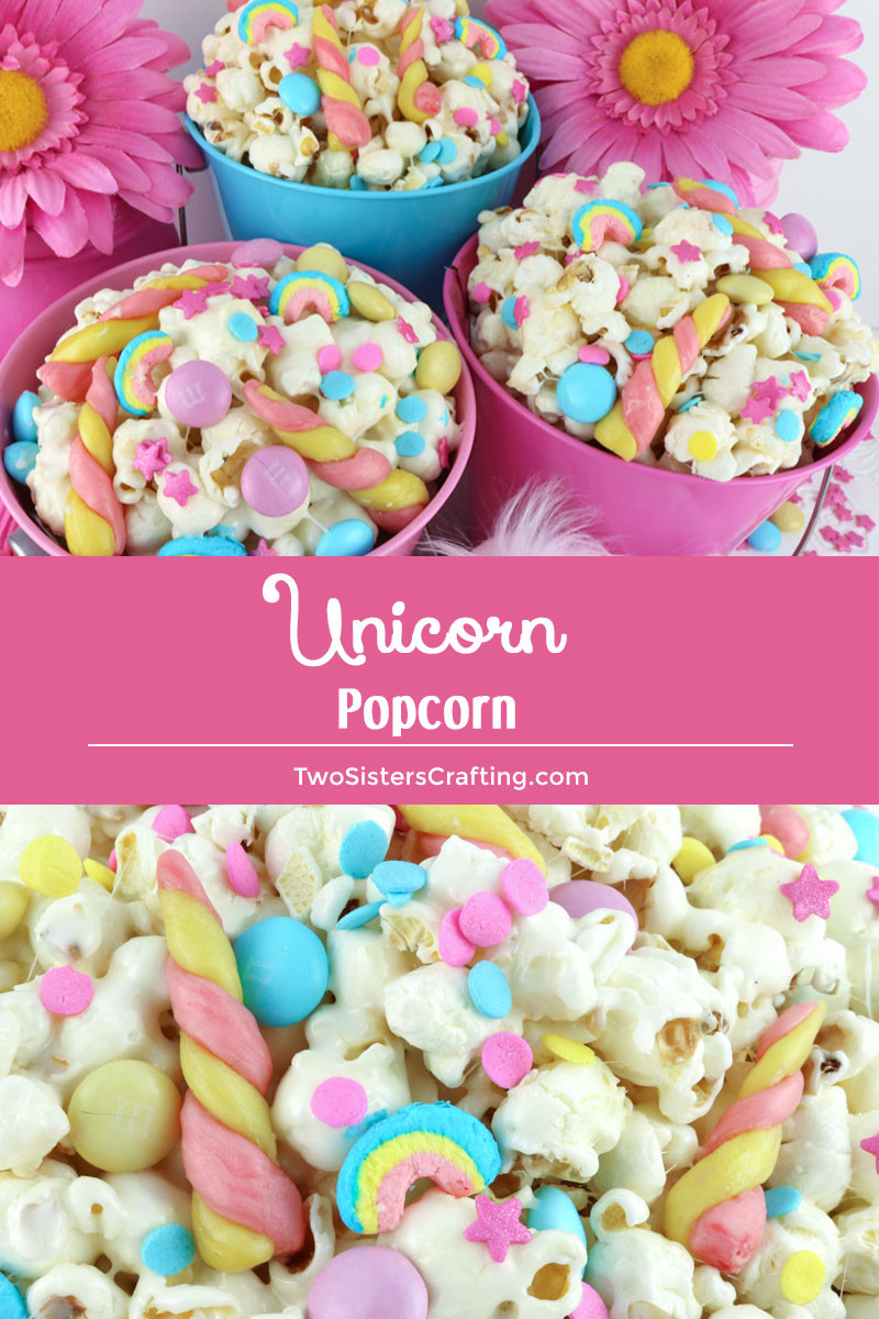 Unicorn Party Ideas Food  Unicorn Popcorn Two Sisters