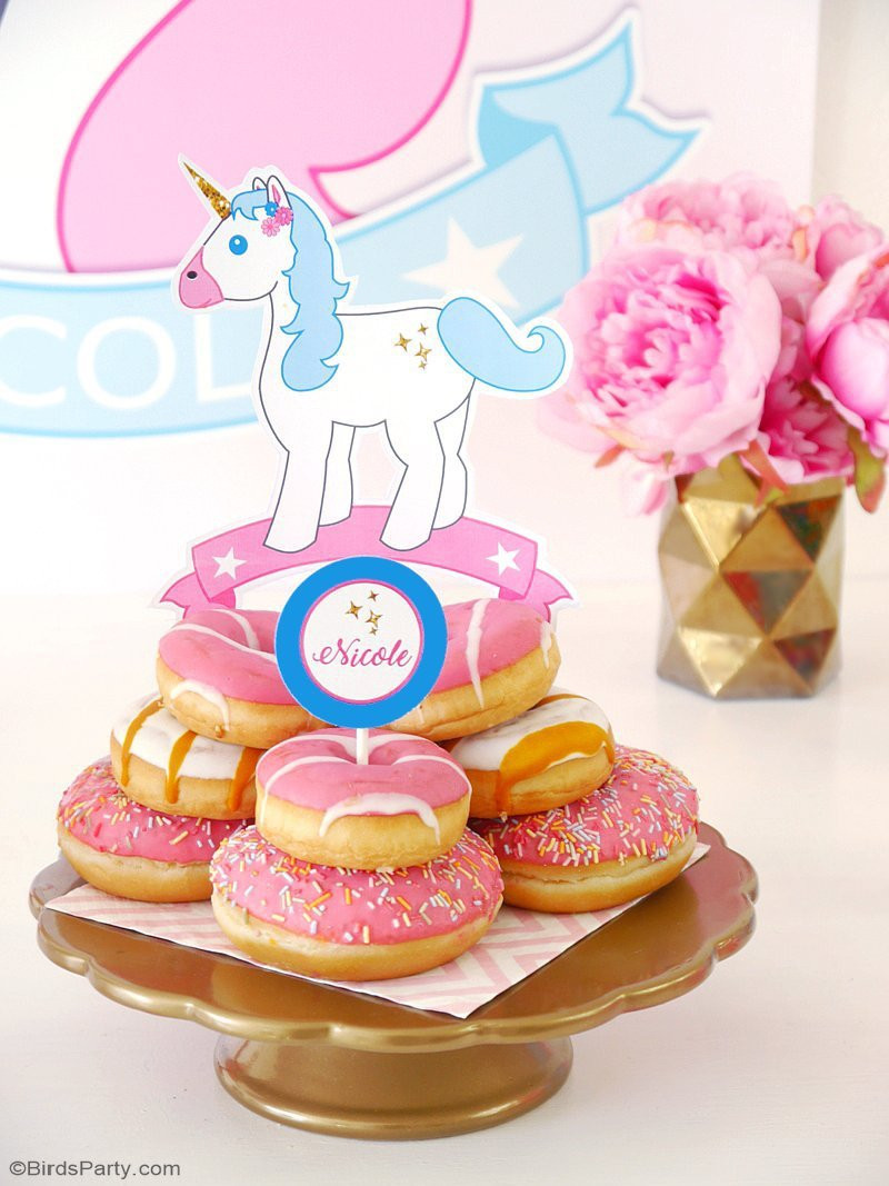 Unicorn Party Ideas Food  My Daughter s Unicorn Birthday Slumber Party Party Ideas