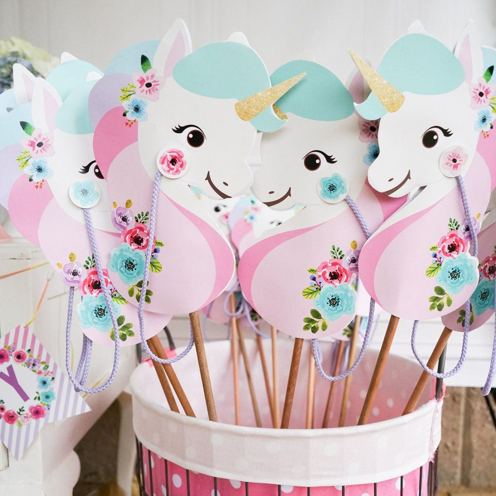 Unicorn Party Ideas  20 magical unicorn birthday party ideas