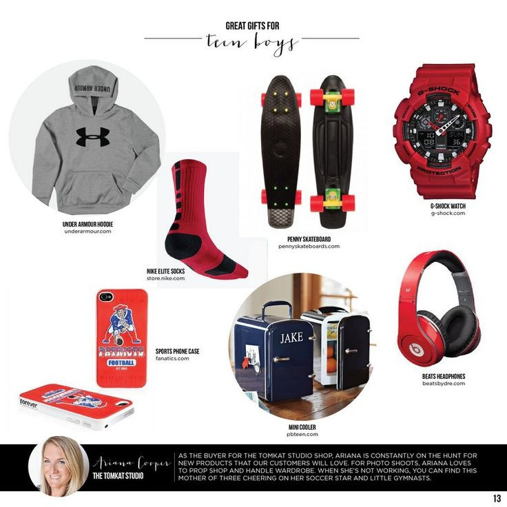 Unique Gift Ideas For Boys  Great Gifts for Teen Boys TomKat Holiday Gift Guide