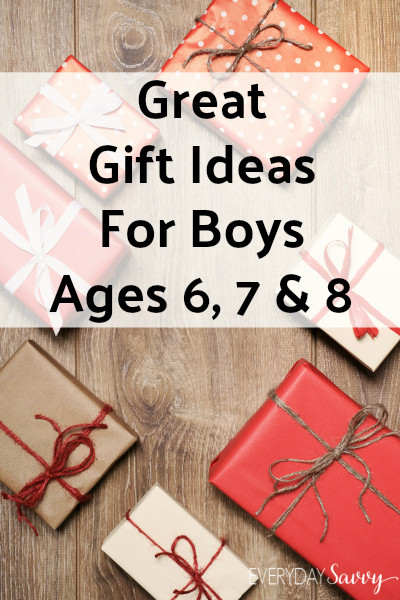 Unique Gift Ideas For Boys  Great Gift Ideas for Boys Ages 6 7 8